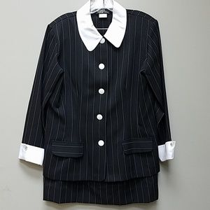 {VINTAGE} Made in USA Pinstripe Suit Set
